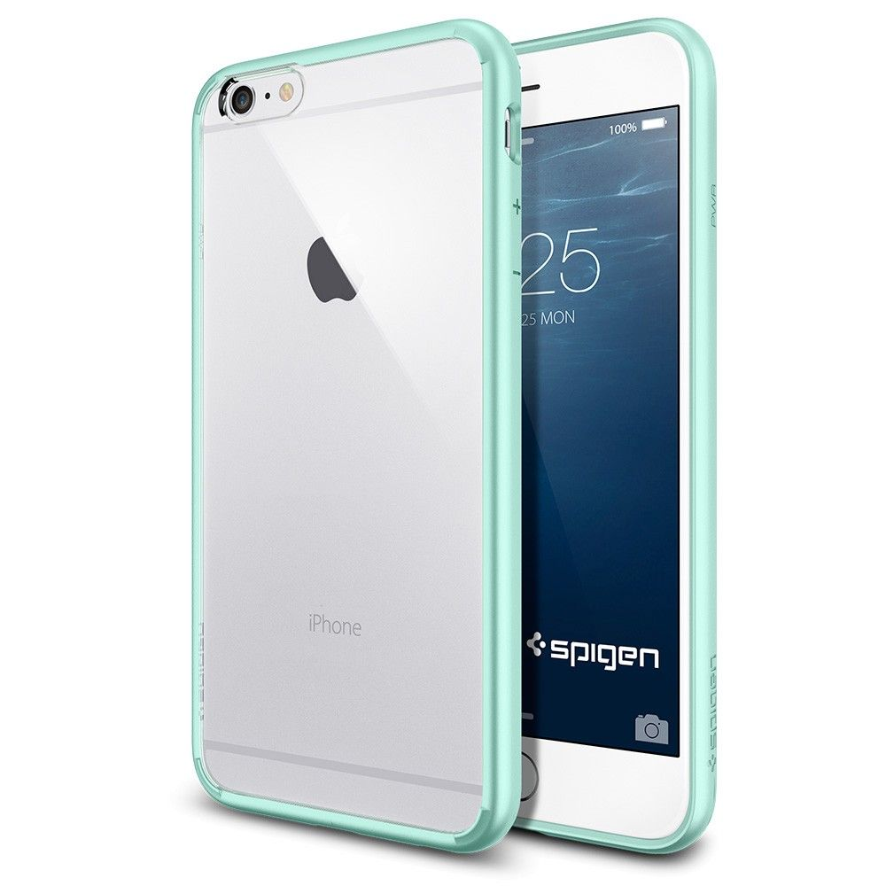 san francisco 7a300 c89ef iPhone 6 Plus Case Ultra Hybrid, Clear back $24.99. (ordered from ...