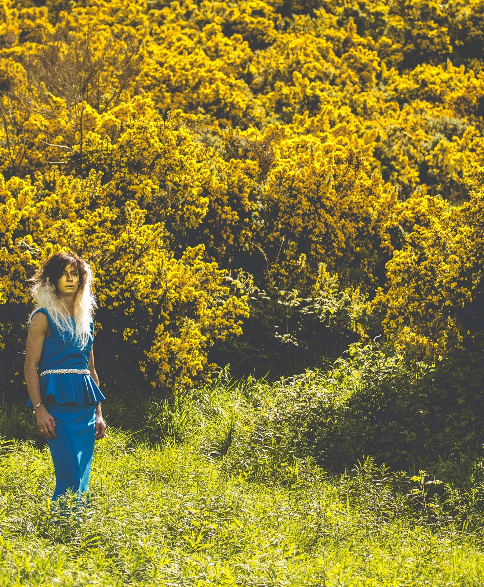 Fields of gold shoot Model: Eve Muirhead Styling: Lynne McCrossan Hair and make-up: Molly Sheridan Photographs: Seb Singh Words: Ruth Walker