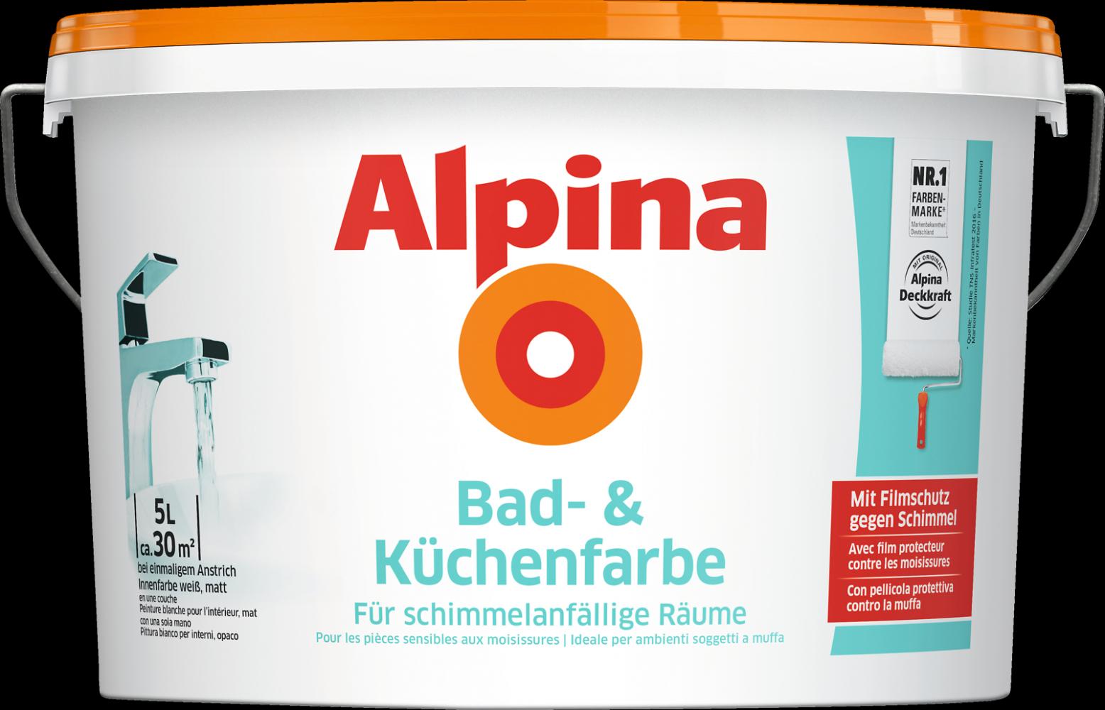 Bad Und Kuchenfarbe Alpina
