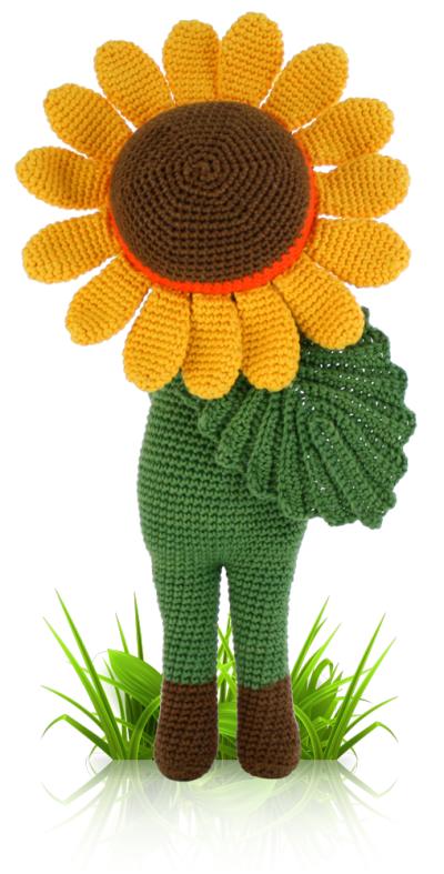 Sunflower Sam Flower Doll Crochet Pattern Zabbez Amigurumi Crochet Crafts Crochet Doily Patterns Crochet Amigurumi