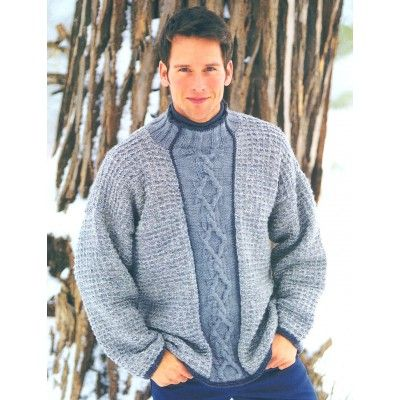 Free Intermediate Mens Sweater Knit Pattern Free Knit Sweater