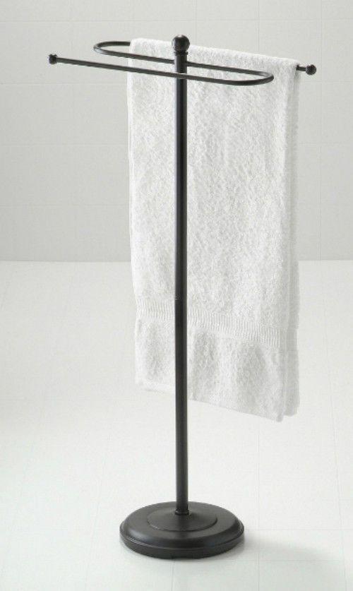 standing towel rack oil rubbed bronze. Floor Standing Towel Valet Oil Rubbed Bronze Finish Bathroom Taymor Rack Hand #ebay #Bathroom F