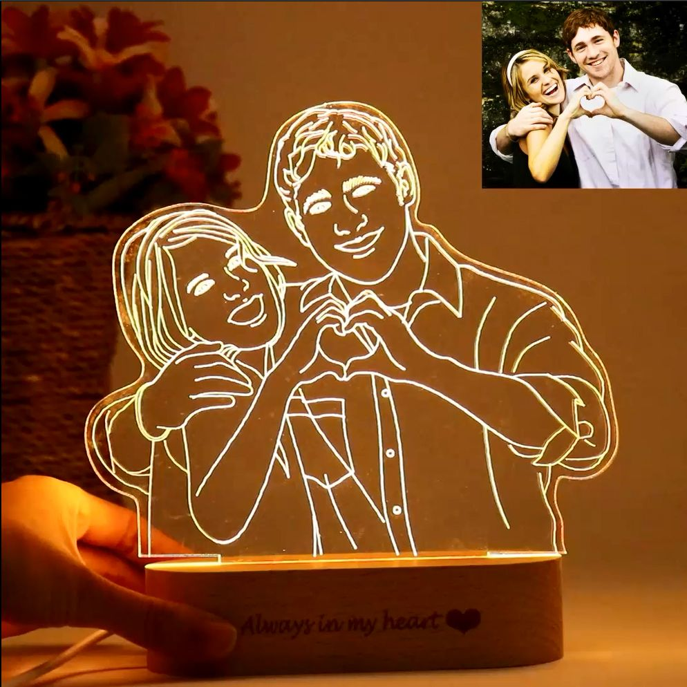 Custom Photo Lamp In 2020 Customized Gifts For Boyfriend Photo Lamp Customized Photo Gifts