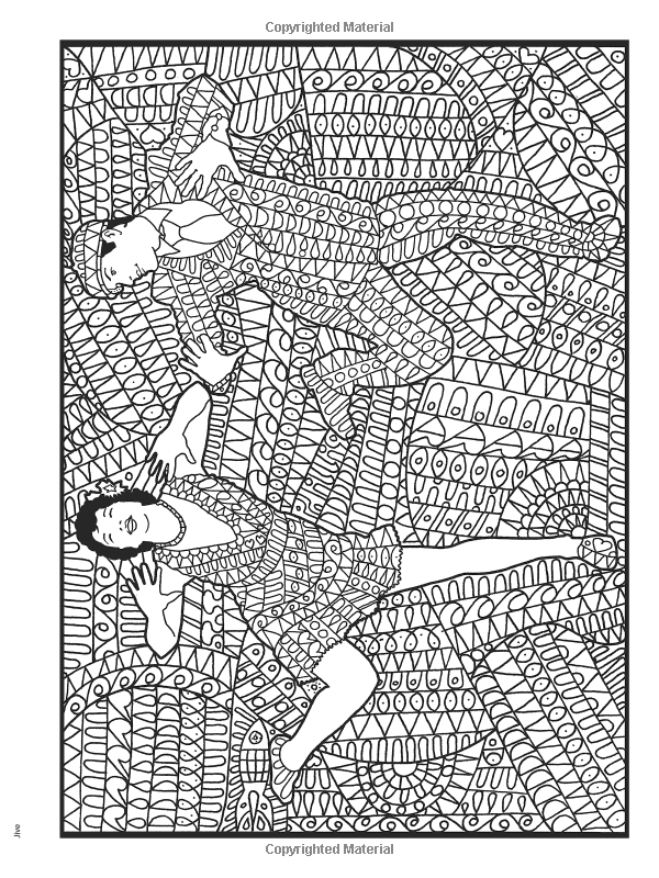 Slavic Girl Dance coloring page | Free Printable Coloring Pages | 800x600