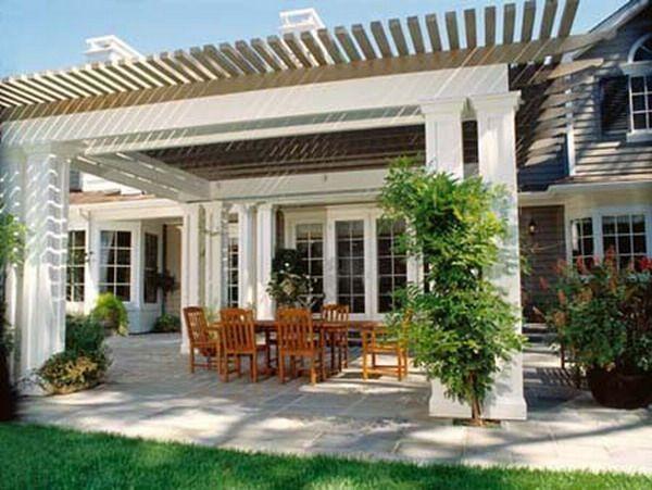 traditional outdoor patio design