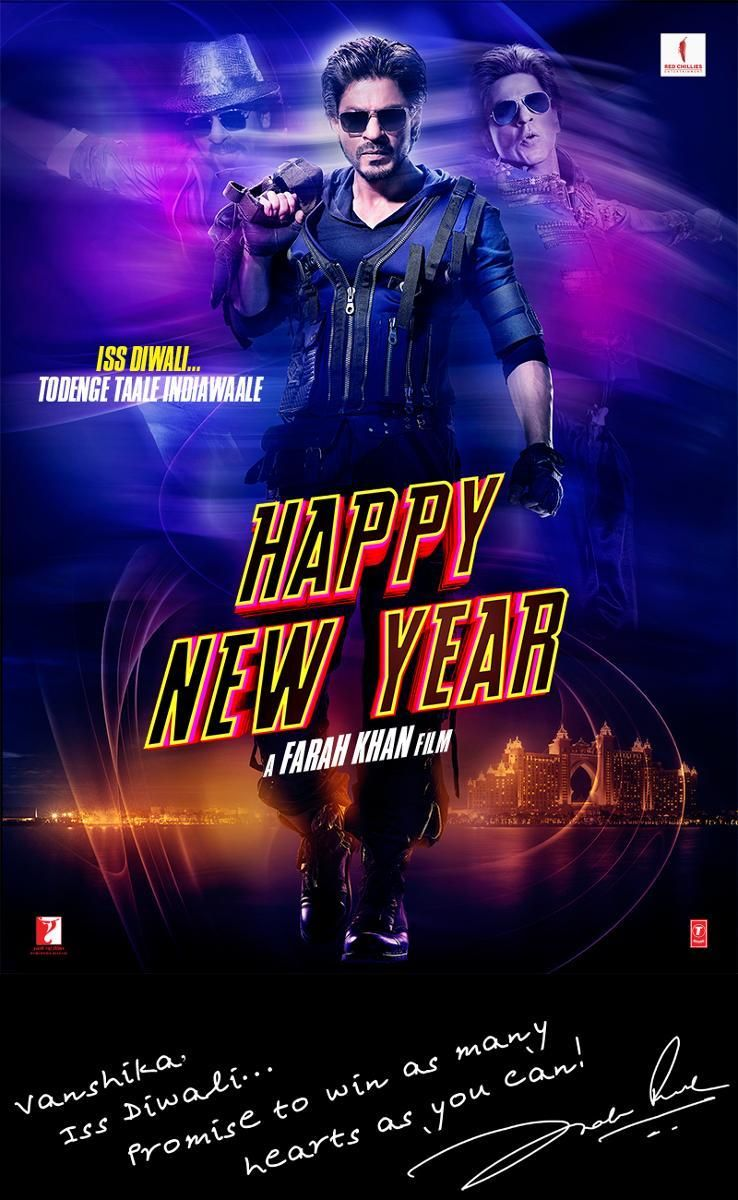 Happy New Year Movie Poster 7