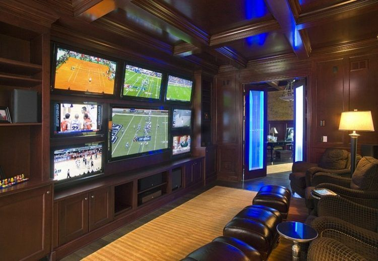 Video Room With Multiple Tvs