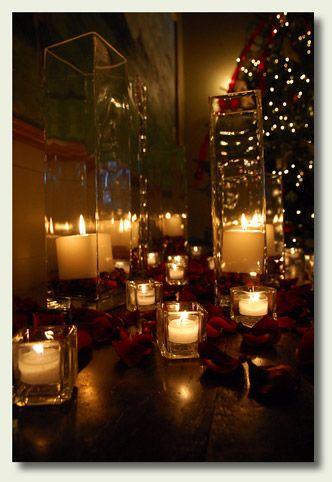 candlelight ~ love the bokah