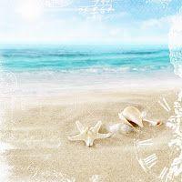 CAJOLINE-SCRAP: Beach papers CU 2