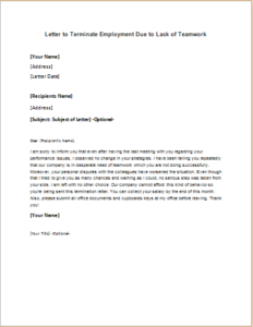 Layoff Letter Due To Lack Of Work from i.pinimg.com