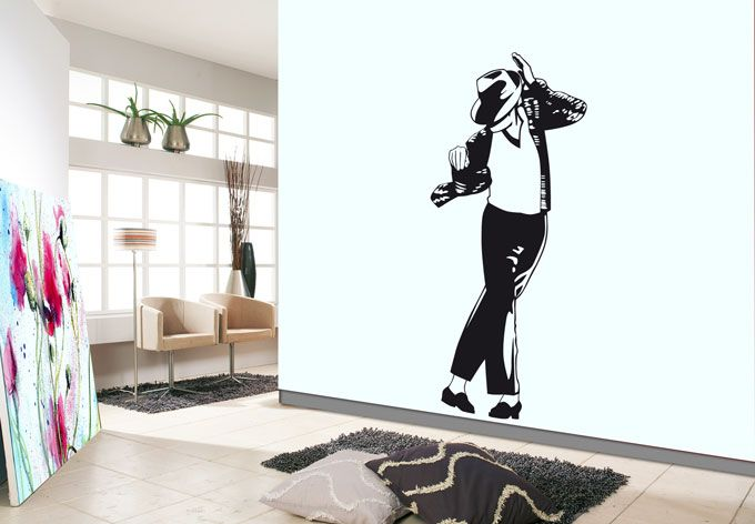 Michael Jackson Wall Decals www.phototex.com.au | Wall ...