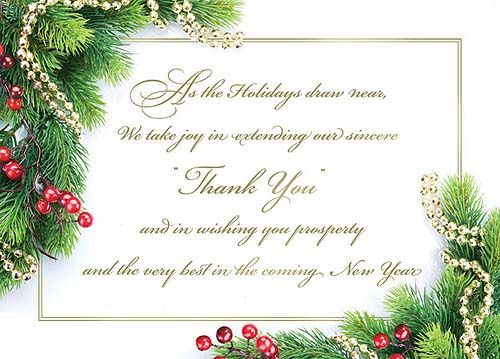 Business Staff Christmas Appreciation Note Images  Google Search