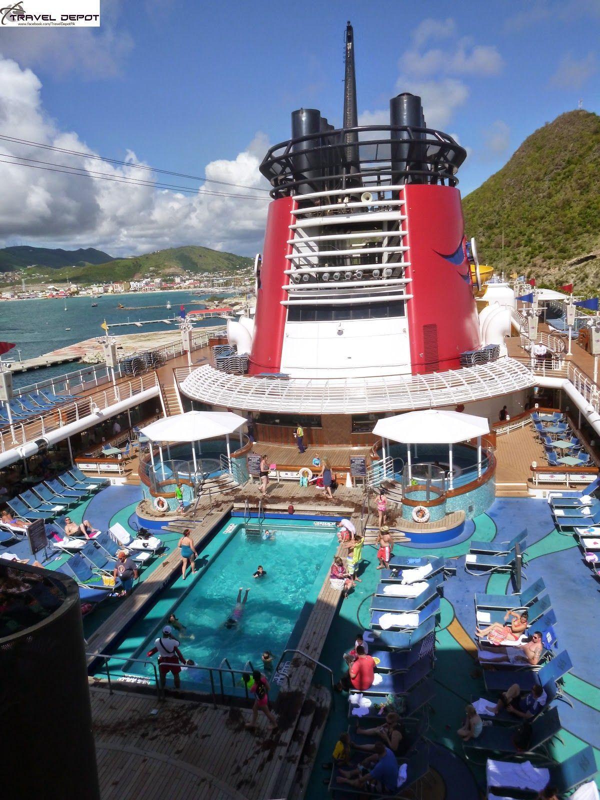 Pool Areas Aboard The Disney Magic Cruise Ship Travel Depot - Disney magic cruise ship pictures