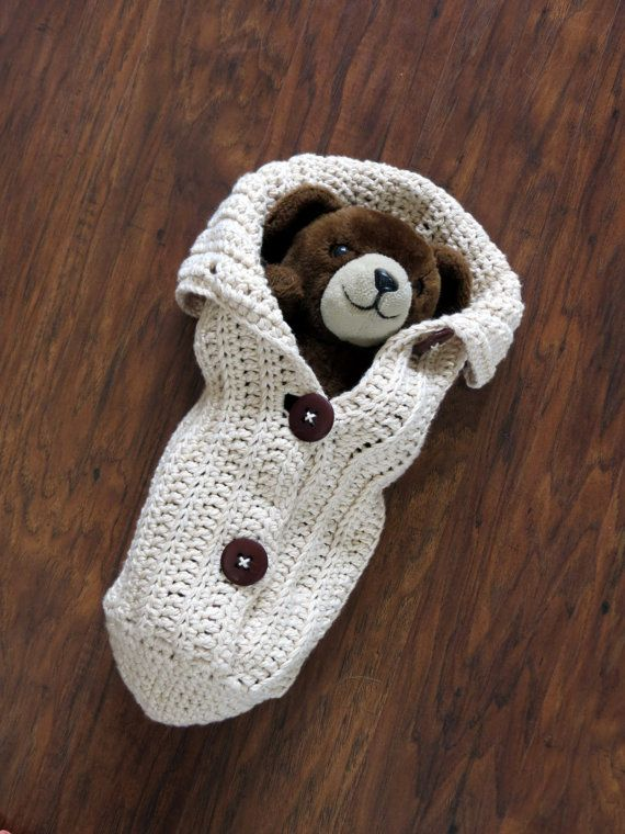 Crochet Cocoon Pattern Newborn Photo Prop by TheKnittingCloset ...