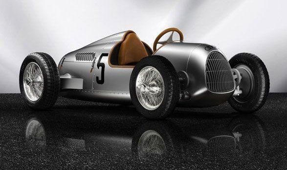 Audi Auto Union Type C E Tron Gorgeous Electric Car For Kids