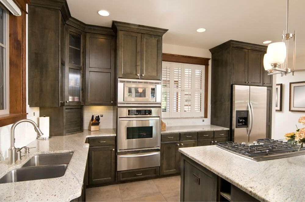 Kitchen Design With Double Wall Ovens Mycoffeepot Org