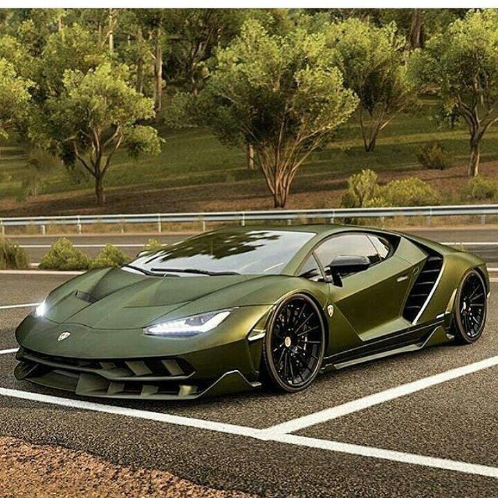 Lamborghini Cars, Green