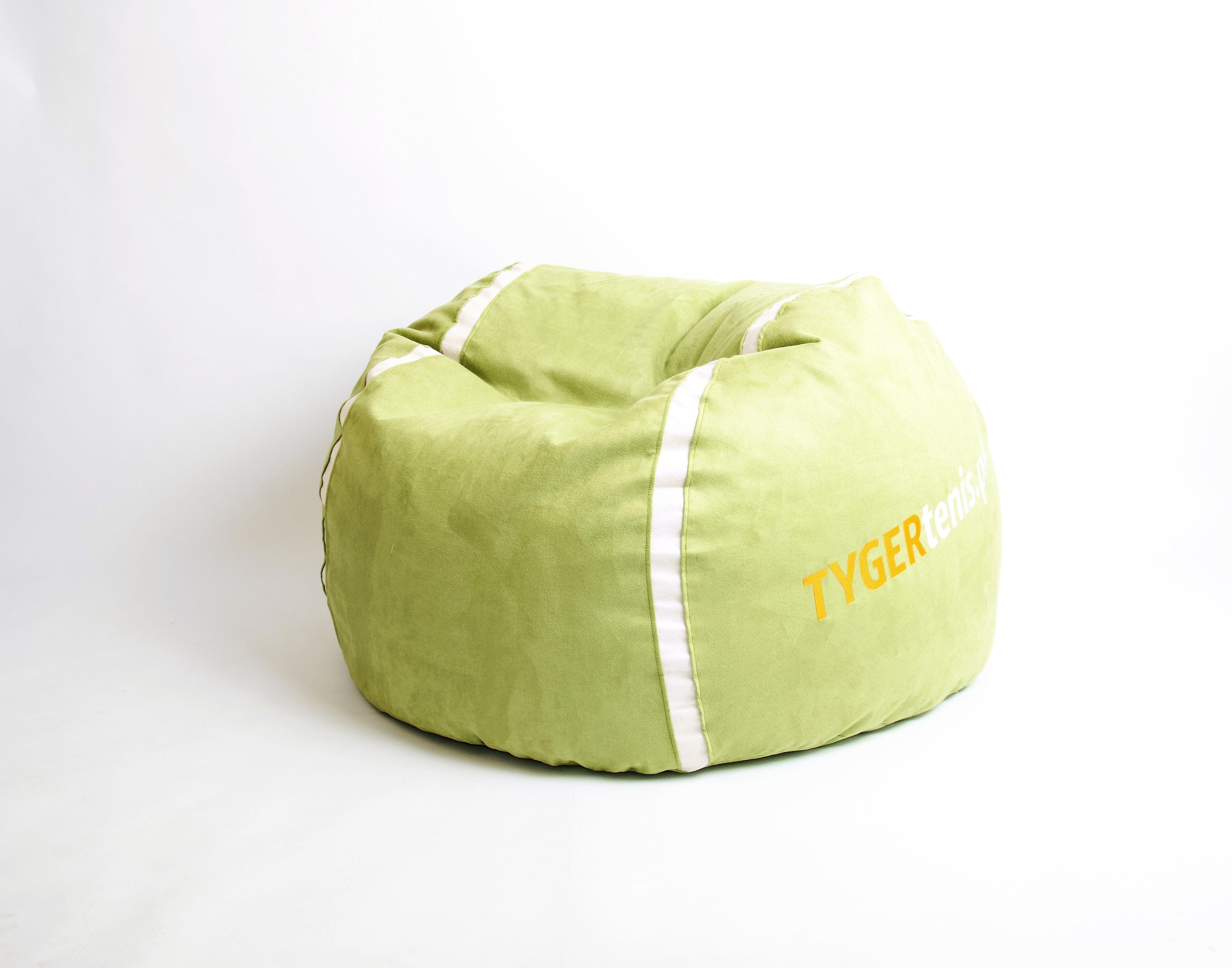 Pufa Green Tennisball My Beanbags Pokoj Dziecka