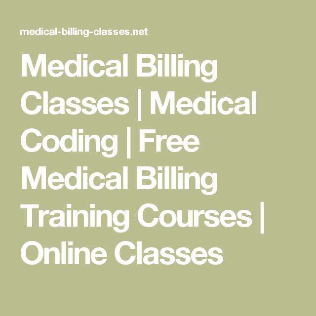 Medical Billing Classes Medical Coding Free Medical Billing