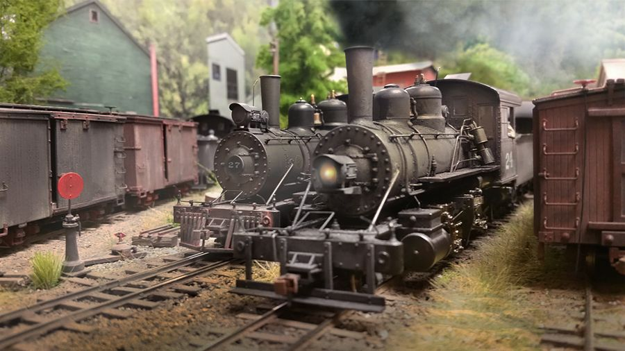 Spruce Coal & Timber Layout - The New Saga - On30 - Model