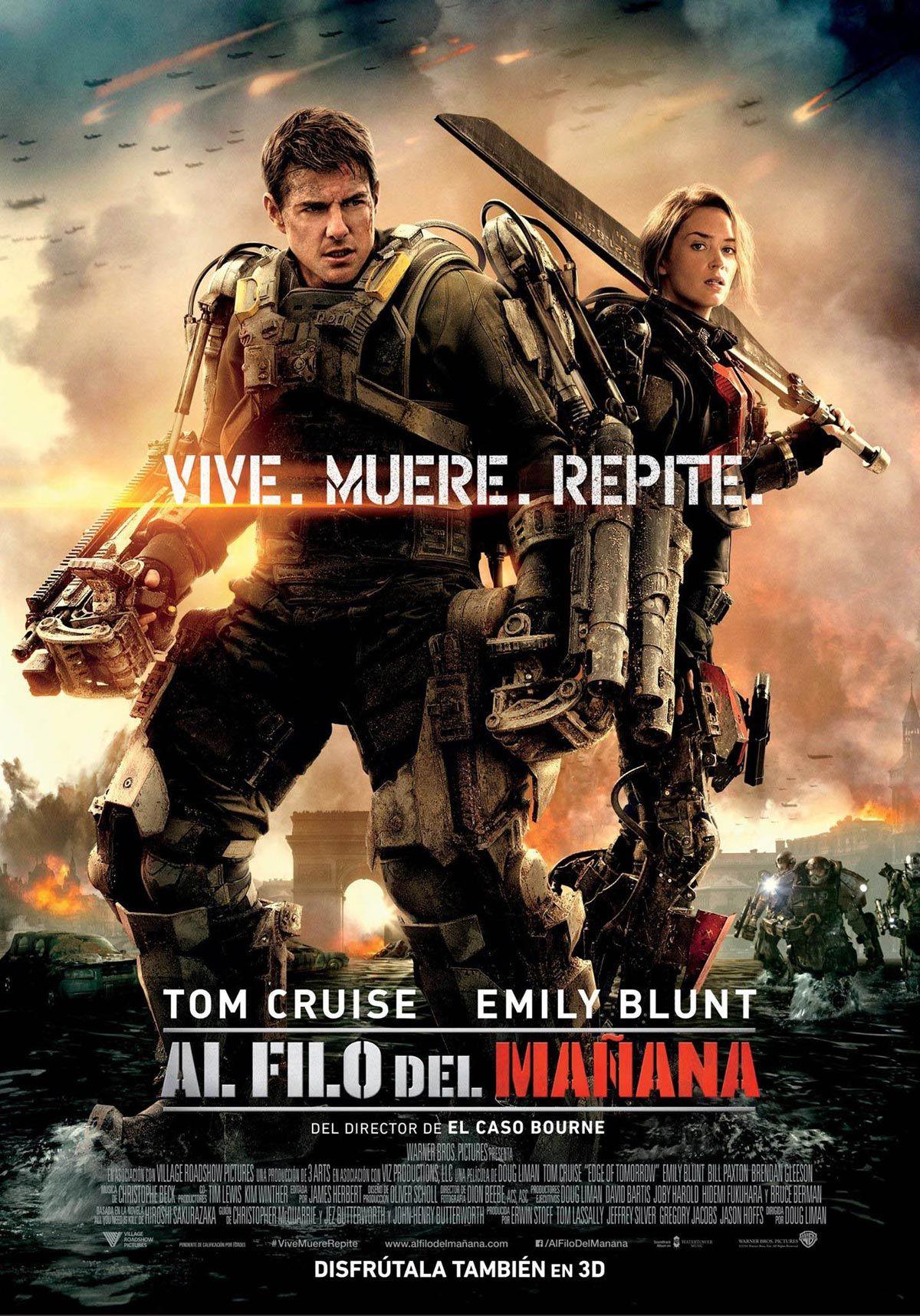 Edge Of Tomorrow Action Movies Tom Cruise