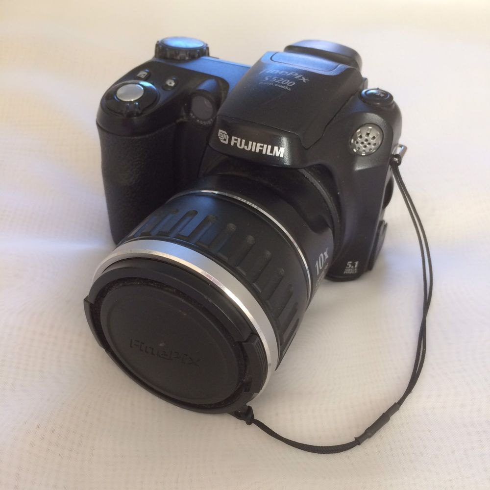 Fujifilm Finepix S5200 Digital Camera 10x Optical Zoom - See Description! |  eBay