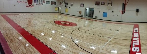 Germantown Middle School 2014 Projects Sports Floors Inc Gym Flooring Middle School School