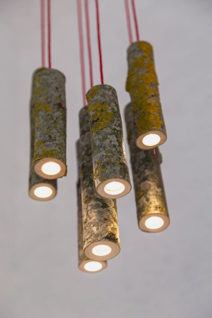 Simple Hanging Lamp Made Of Tree Branches By Jay Watson Home