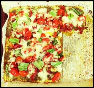 Gluten Free Cauliflower Pizza Crust!!! Finally had to try this myself. Learn how to make it here!