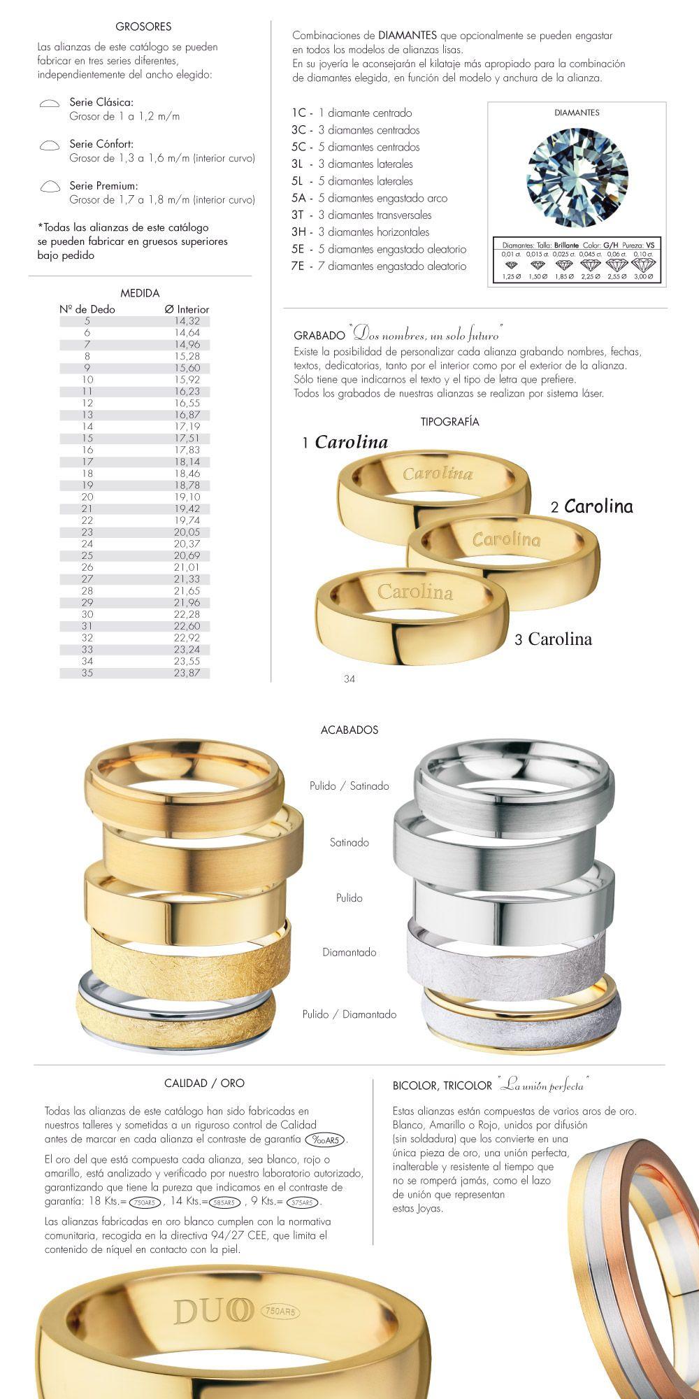 aa43cd5731ad Configurador de alianzas de boda. Duoo alianzas | BODA | Anillos de ...