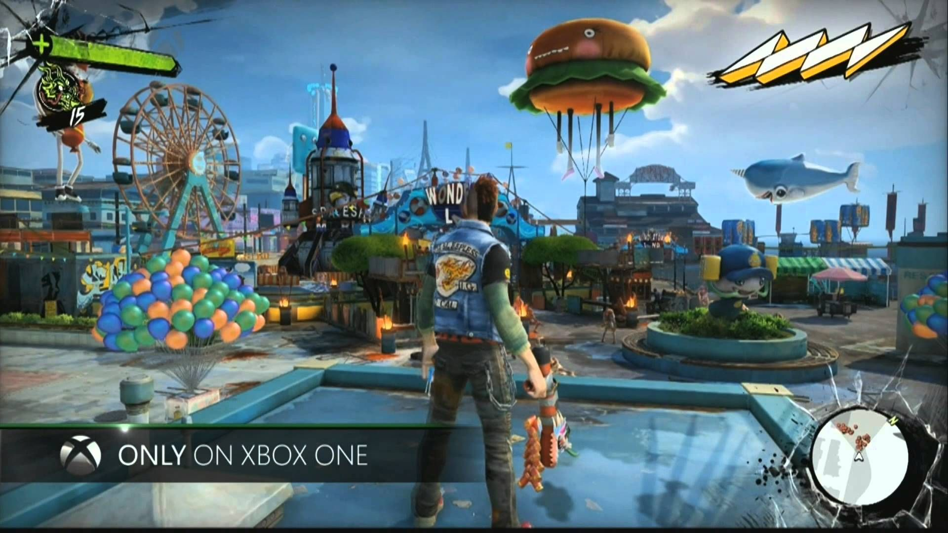 E3 Reveal! Sunset Overdrive!