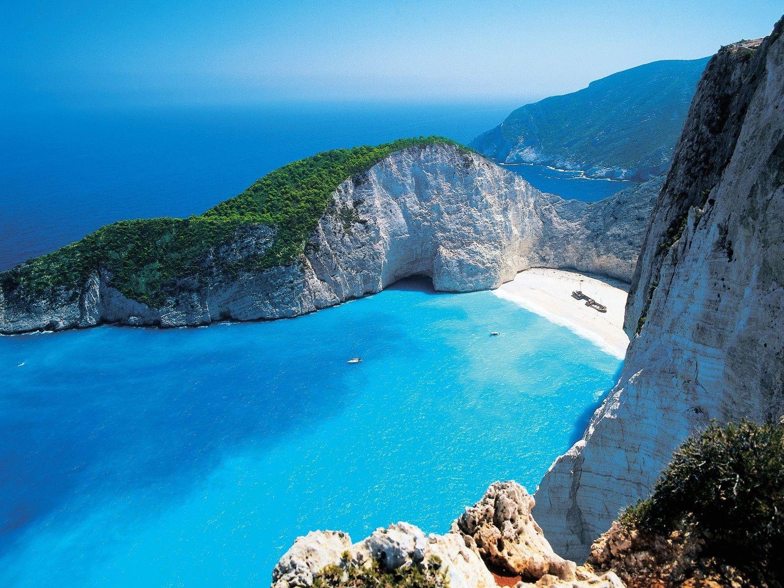 Greek, Island, Greece, Beach, Sea, Zakynthos, Shipwreck, Cliff, Boat, Landscape, Navagio beach, Nature, Photography, Mountains Wallpaper