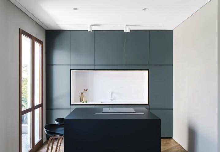 pareti-colorate-casa-indipendente-milano-cucina | K | Le Cucine ...