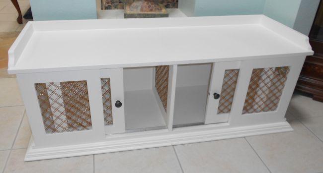 Custom Wood Dog Crate Figueroa S Fine Custom Furniture Dog Kennel Furniture Diy Dog Crate Dog Crate Furniture
