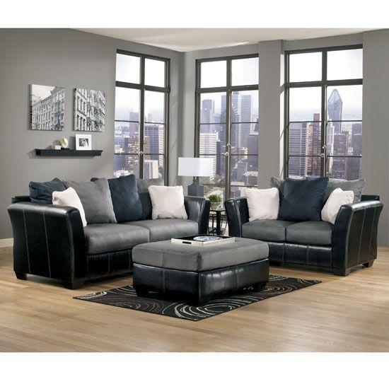Masoli Cobblestone Living Room Set By Ashley Furniture Room Furniture
