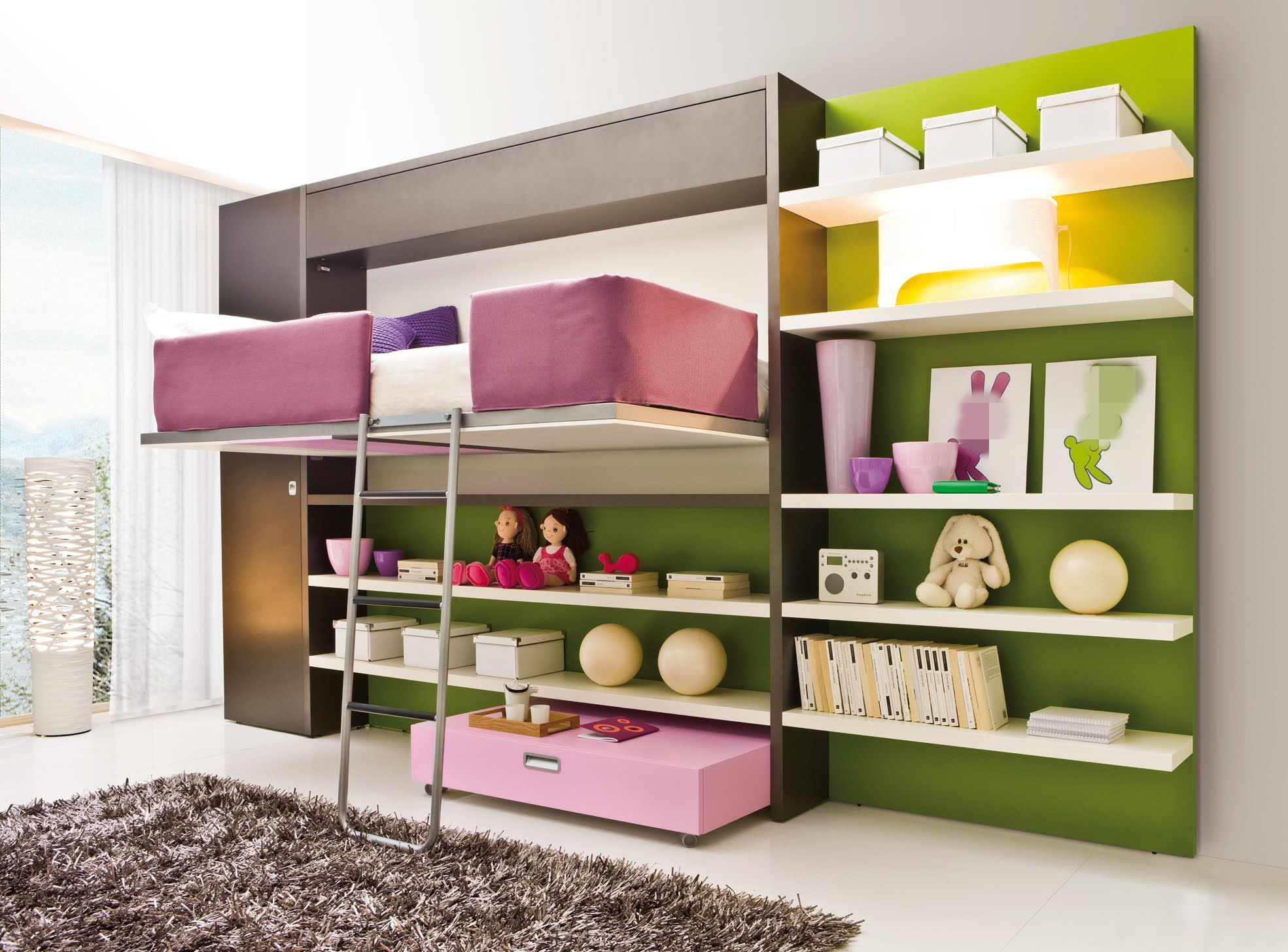 Amazing bedroom ideas for teenage girls with white wooden bed simple images
