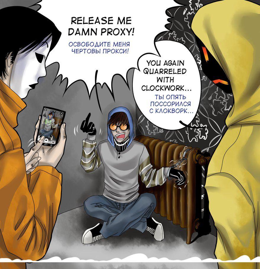 Toby, Masky and Hoodie | Creepypasta | Creepypasta proxy