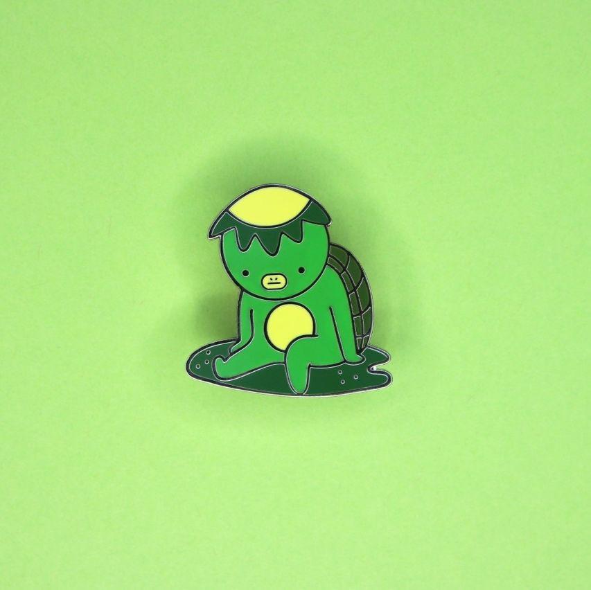 Frog Sailors Pin  Cute Frog Pins