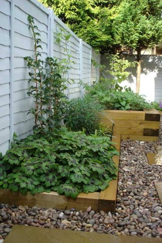 H C Landscape\'s project with railway sleepers 4 | DIY | Pinterest ...