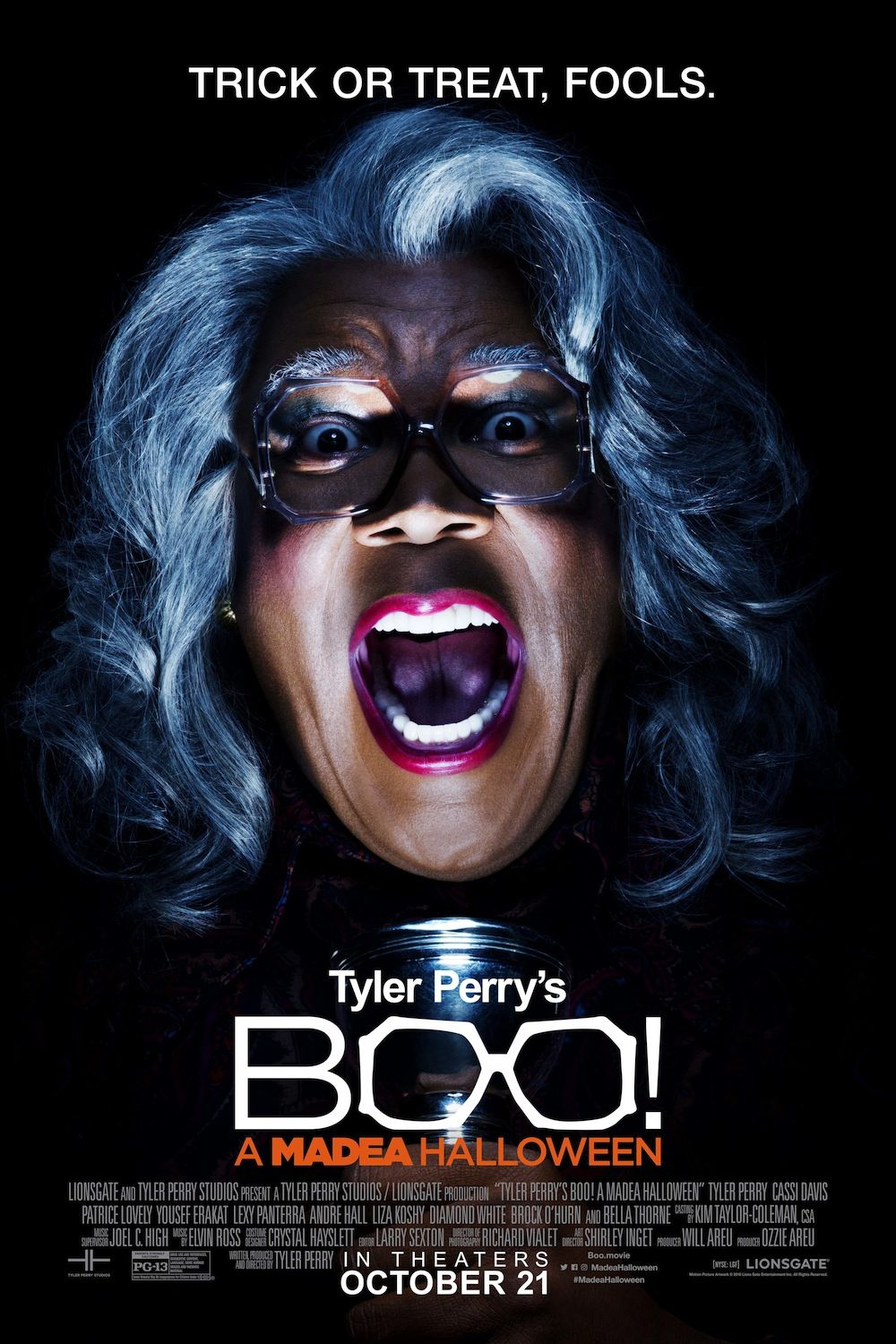 Boo! A Madea Halloween (2016) Black Horror Movies Boo