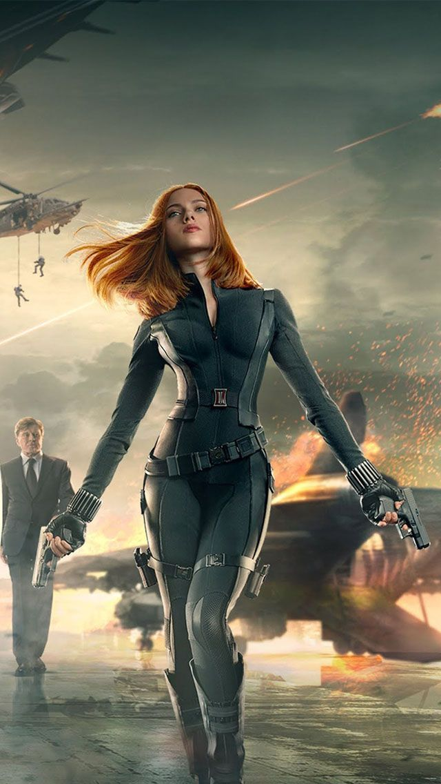 Winter Soldier Black Widow Wallpaper Alaskainpics Black