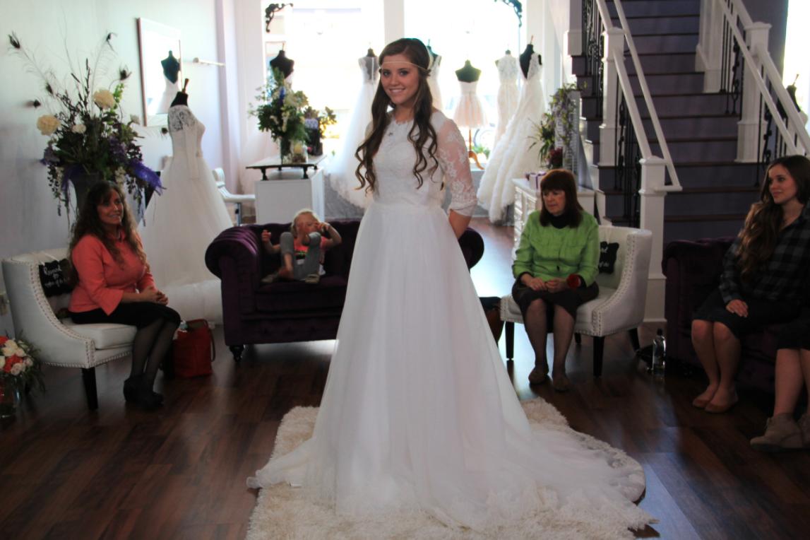 Joy Anna Duggar Wedding Dress Yahoo Image Search Results Joy Anna Duggar Wedding Duggar Wedding Wedding Dresses