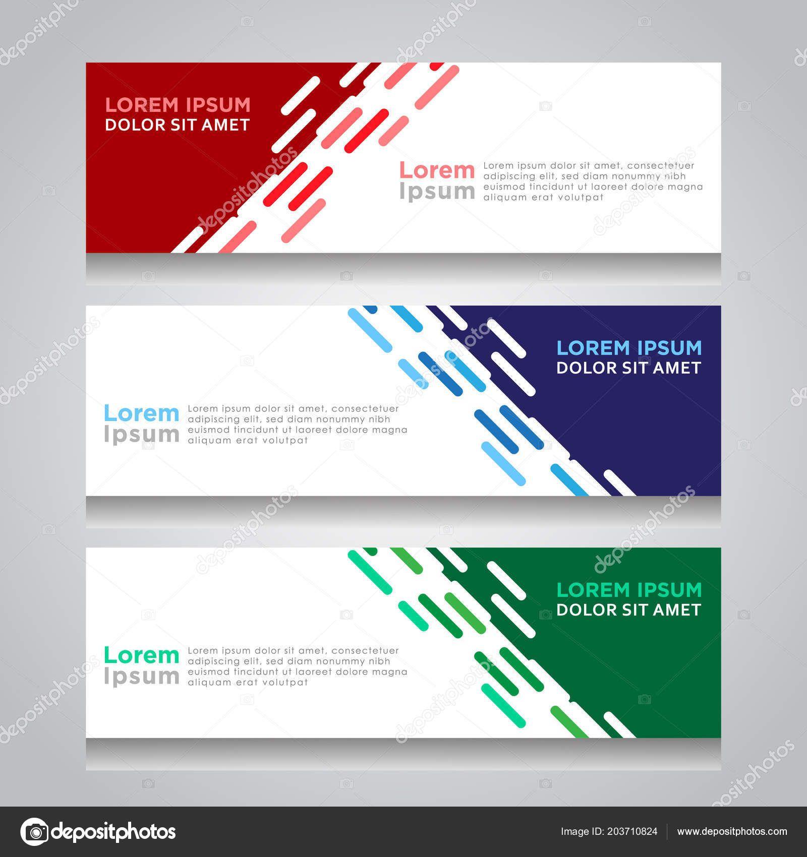 Vector Abstract Design Web Banner Template Web Design Regarding Website Banner Design Templates B In 2020 Banner Template Design Website Banner Design Website Banner