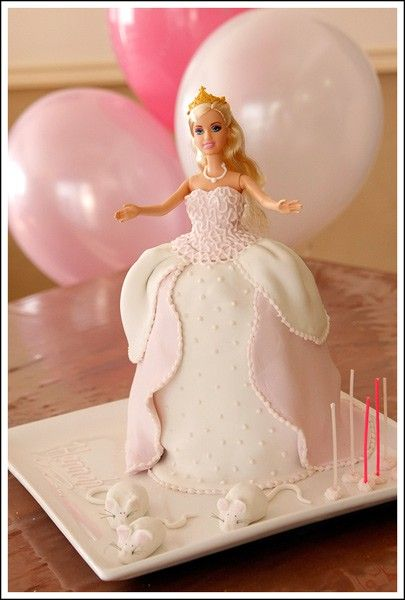 Every Little Girl Should Have A Barbie Cake My Step Mom