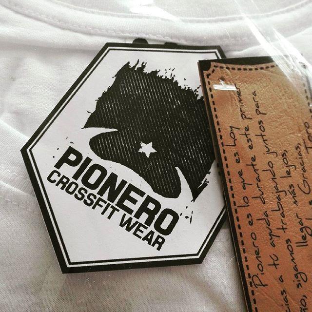 Gracias @pionerochile por tan buenas poleras. #pionerochile #crossfitwear #crossfit