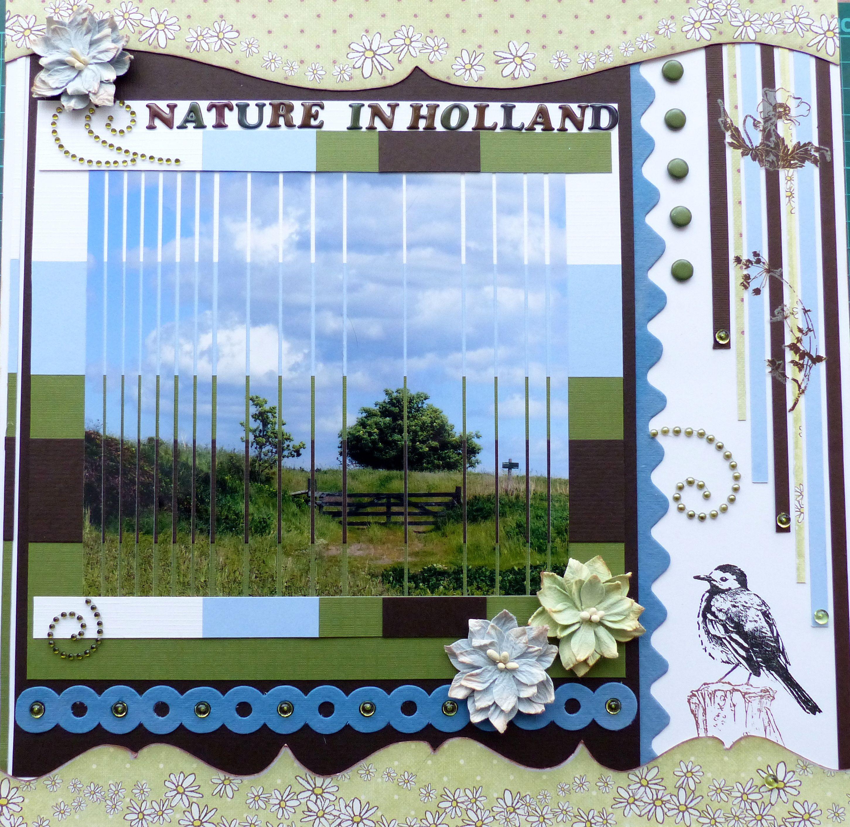 Nature in Holland - Scrapbook.com