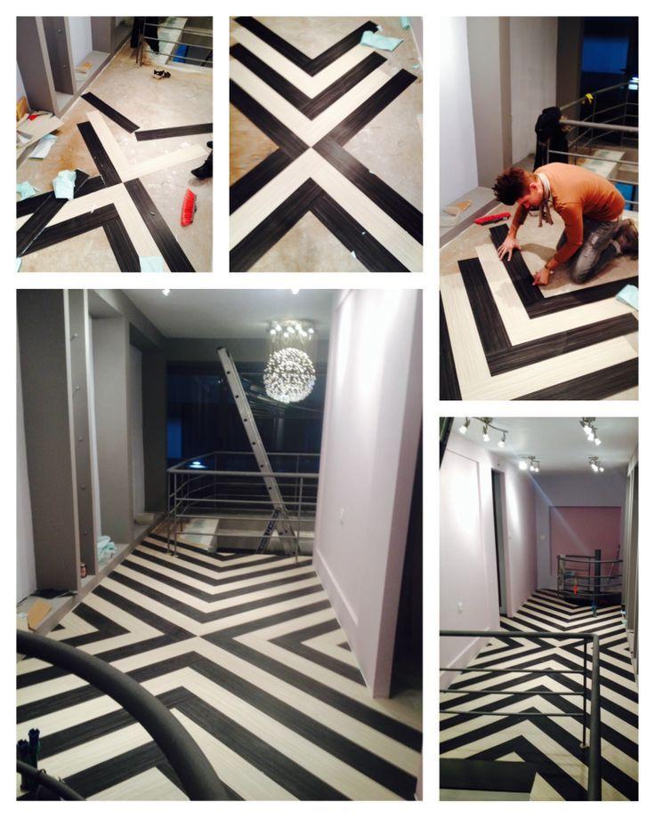 Black And White Vinyl Flooring Vinyl Flooring Pics Pinterest