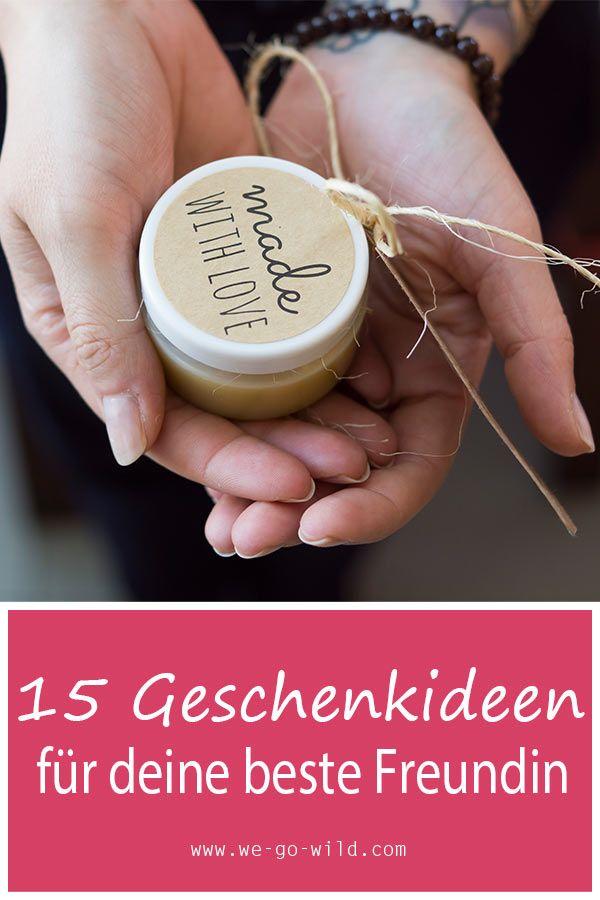 22 wunderbare DIY Geschenkideen für die beste Freundin #geschenkbestefreundin