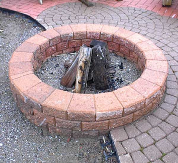 20 The Best Diy Old Brick Projects For Backyard Fire Pit