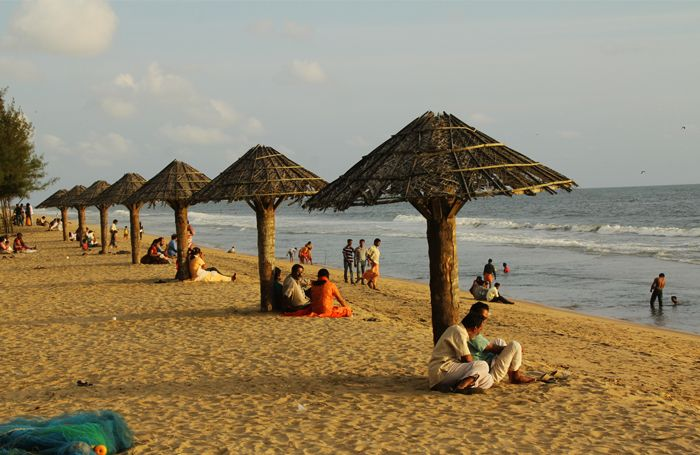 Cherai Beach is located in Vypin island, Kochi, India. Cherai Beach is just 25 km from Kochi, and 30 km from Cochin International Airport. The nearest towns are North Paravur and Kodungallur and the nearest railway station is Aluva